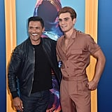 Mark Consuelos and KJ Apa