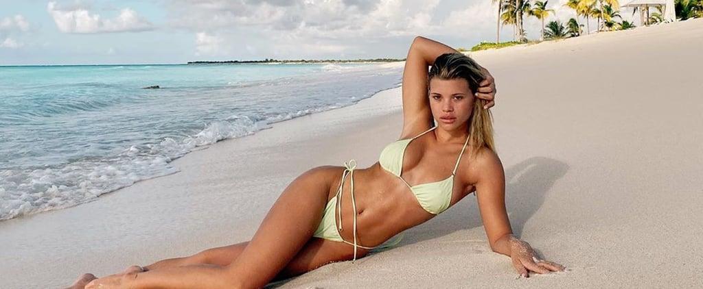 Sofia Richie Looks Incredible in This Light-Green Bikini