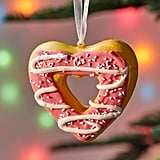 Donut Heart Christmas Ornament