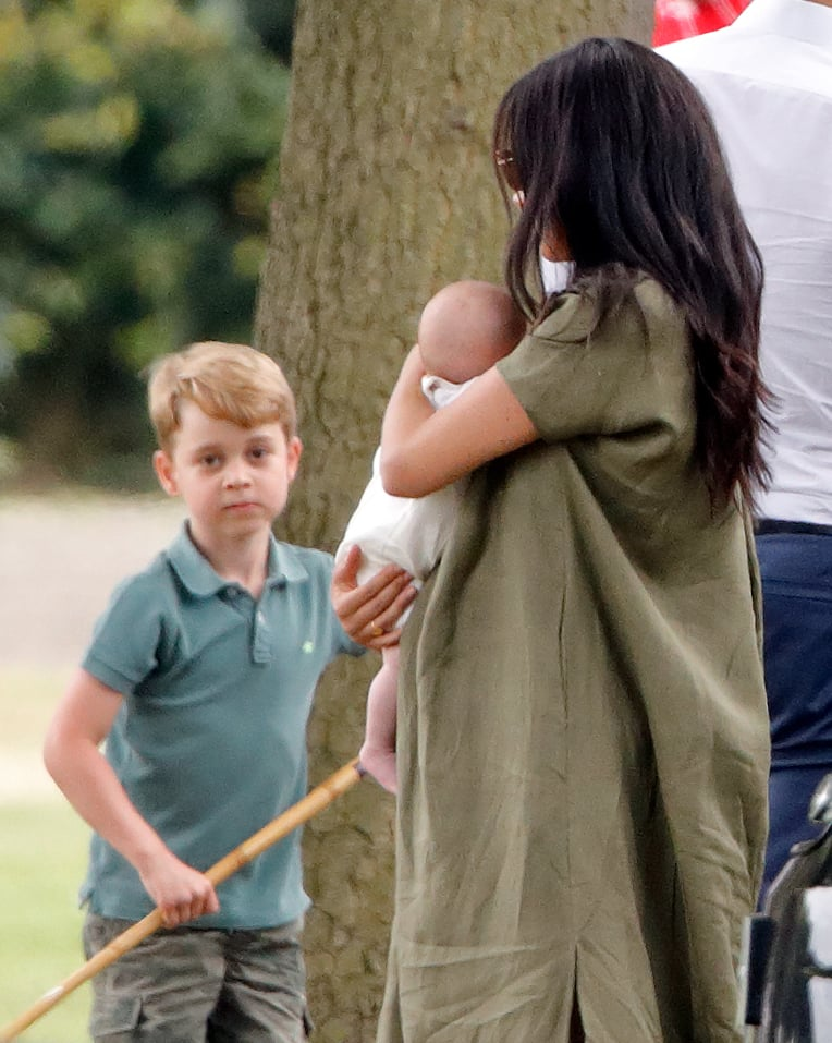 Prince George And Archie Mountbatten Windsor 101 Photos Of The Youngest Royals Hanging Out Together And Having A Wonderful Time Popsugar Celebrity Photo 4