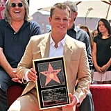 Matt Damon was honored with a star on the Hollywood Walk of Fame in July 2007.