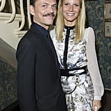Gwyneth Paltrow posed with designer Matthew Williamson at her party for GOOP's Summer season.