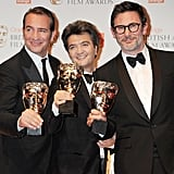 The Artist Has a Big Night at the BAFTAs With Brad, George, Penelope, and More