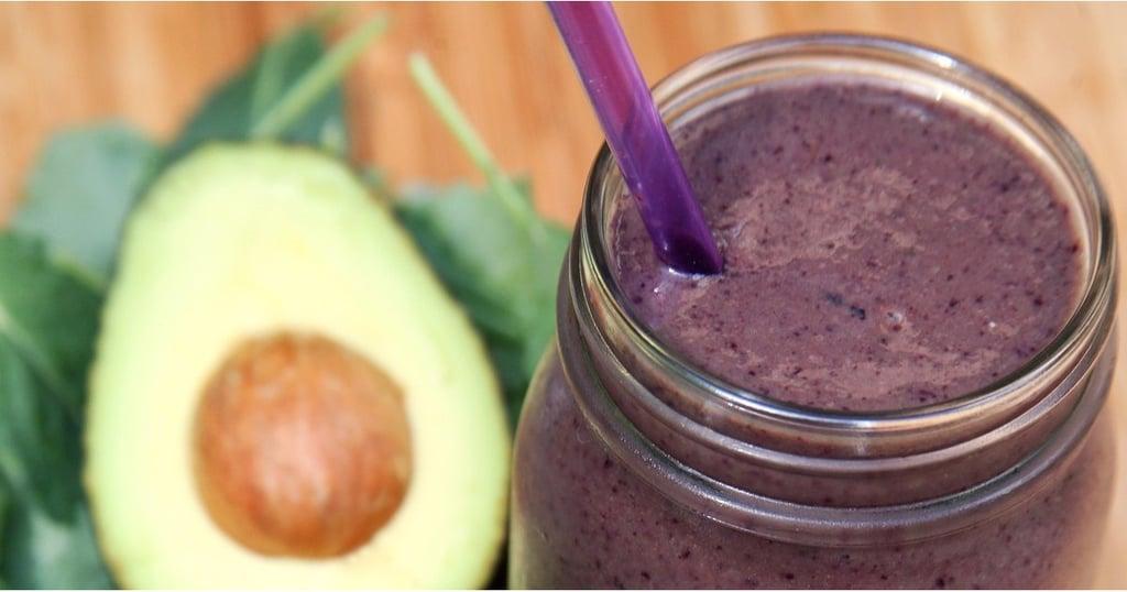 pineapple kale protein smoothie
