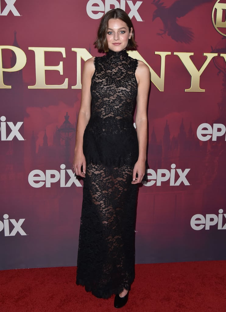 Emma Corrin Wears a Sheer Chanel Dress