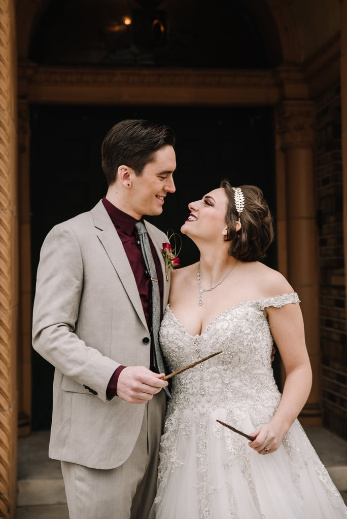 Alohomora! This Romantic Harry Potter Wedding Shoot Has the Flying Key to My Heart