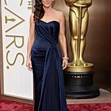 Sandra Bullock in Alexander McQueen at the Oscars