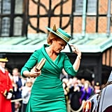 Sarah Ferguson Hat at Princess Eugenie's Wedding Reactions