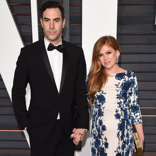 Find Out the Name of Isla Fisher and Sacha Baron Cohen's Third Child!