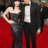 """Call Me Maybe"" singer Carly Rae Jepsen brought her boyfriend, Matthew Koma, along for the show."