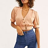 Stay Bold Buttondown Top
