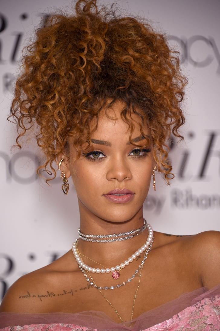 Rihanna Haircut Interview 2015   POPSUGAR Beauty