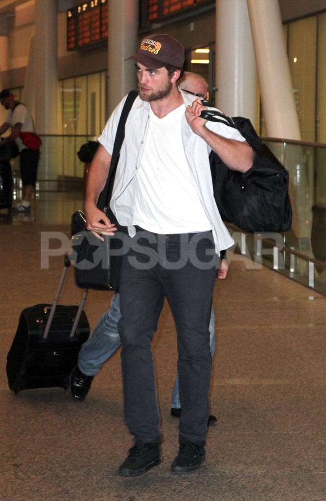 Robert Pattinson landed in Toronto.