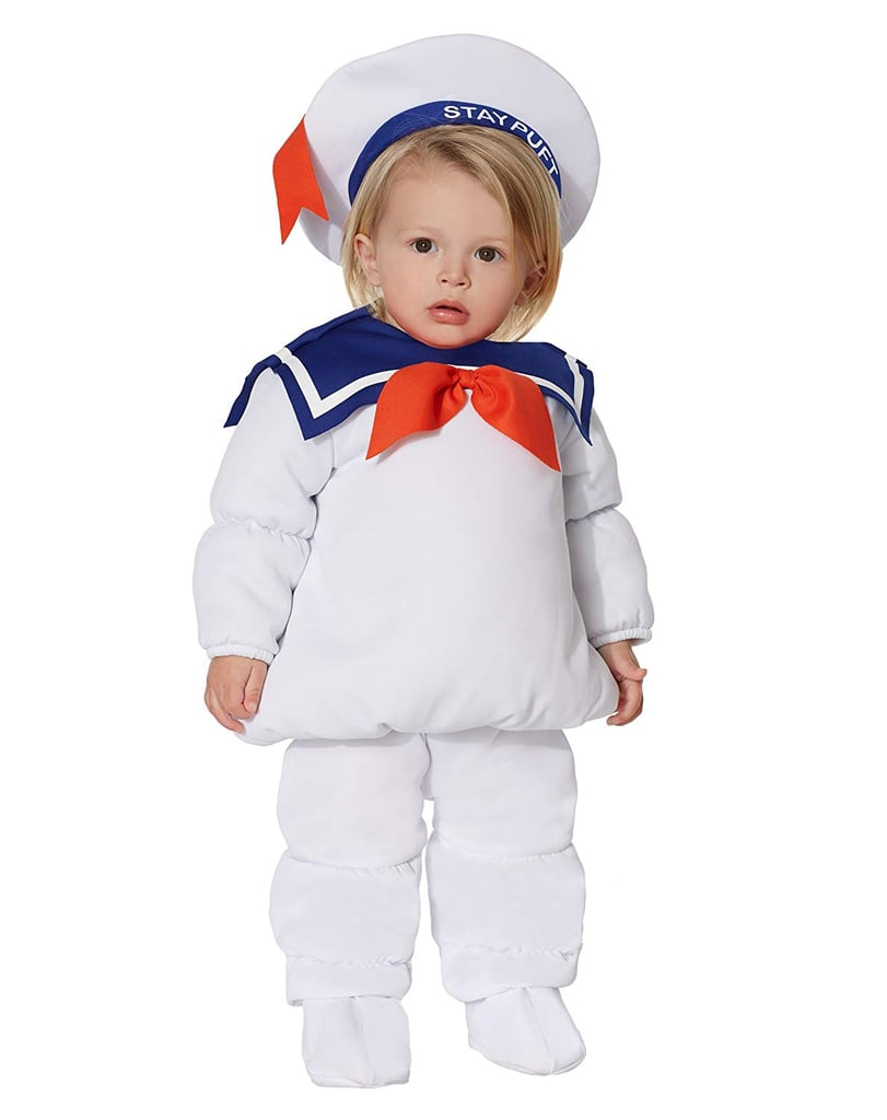 Spirit Halloween Baby Belly Stay Puft Marshmallow Ghostbusters Costume
