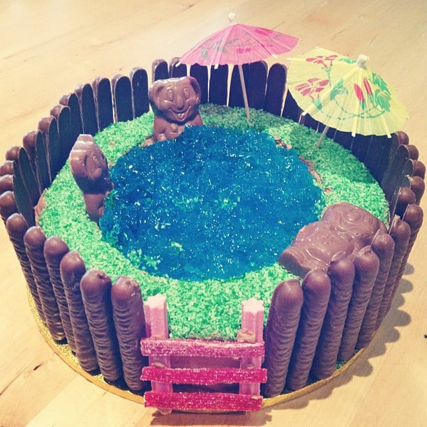 Pool Party Activities Pool Party Cakes  Popsugar Moms