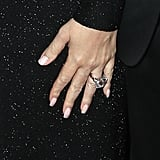 The 35-carat diamond and platinum ring designed by Wilfredo Rosado, a longtime friend of Mariah's.