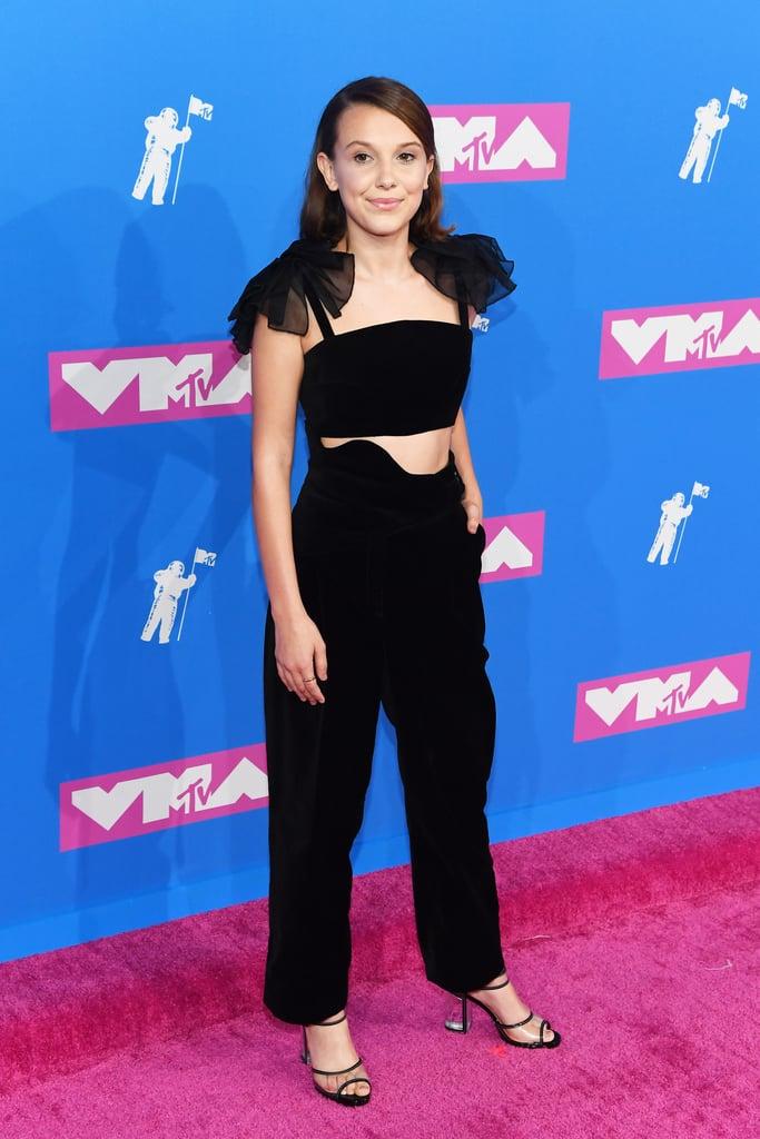 Millie Bobby Brown at the 2018 MTV VMAs