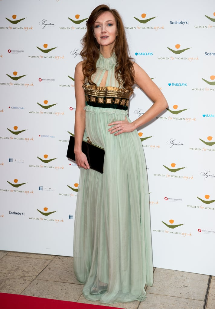 Olivia Grant was every inch the ethereal princess in Dolce & Gabbana at the Women For Women International Gala in London.