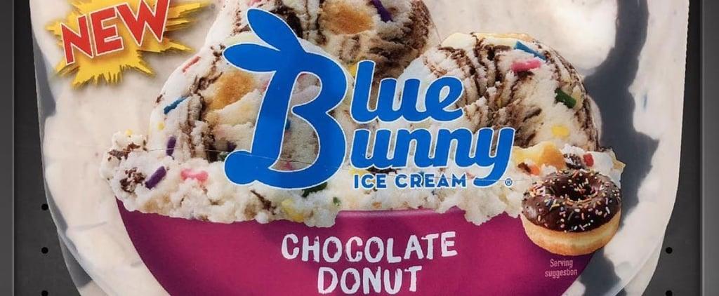 Blue Bunny Chocolate Donut Ice Cream