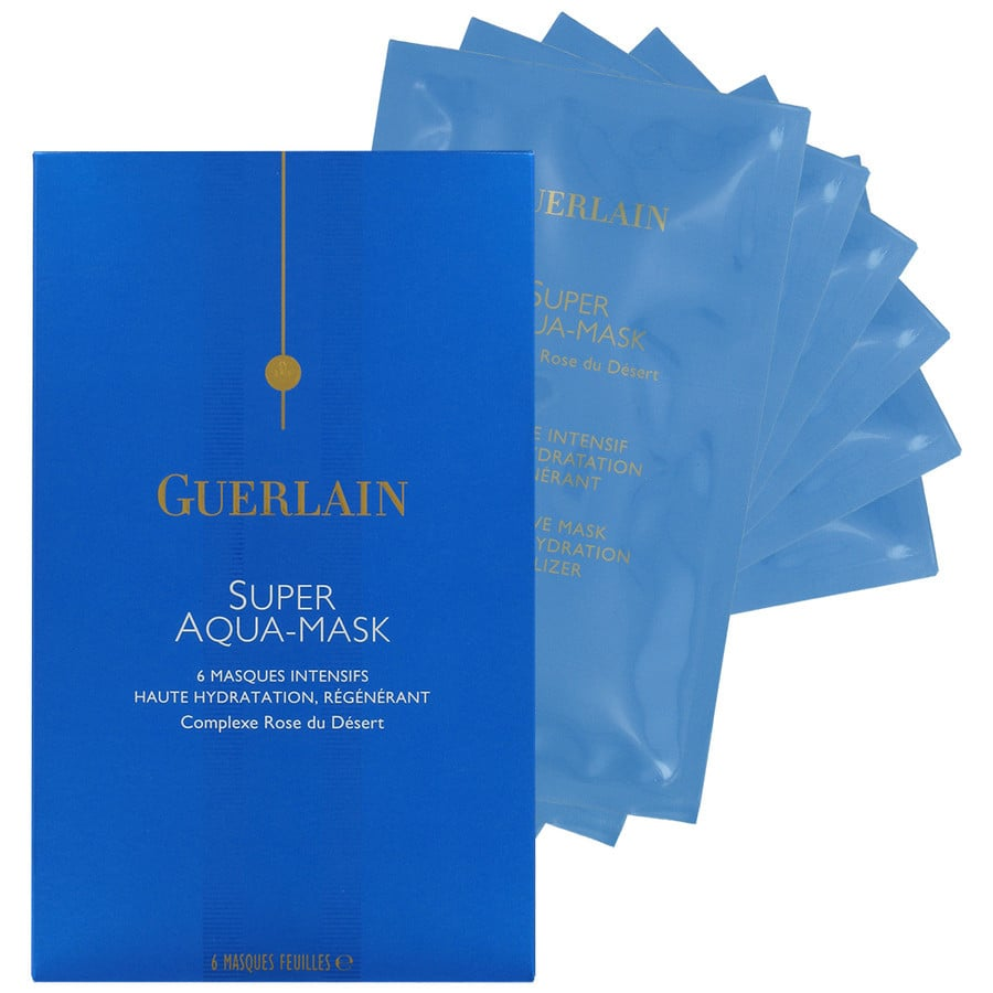 Best for: the person who sweats bullets during designer spin classes. Guzzle all the Evian you want post-cycle, but it won't deliver intense complexion hydration like a treatment would. Guerlain Super Aqua-Mask ($127 for six masks) uses desert rose extract to nourish dry skin.