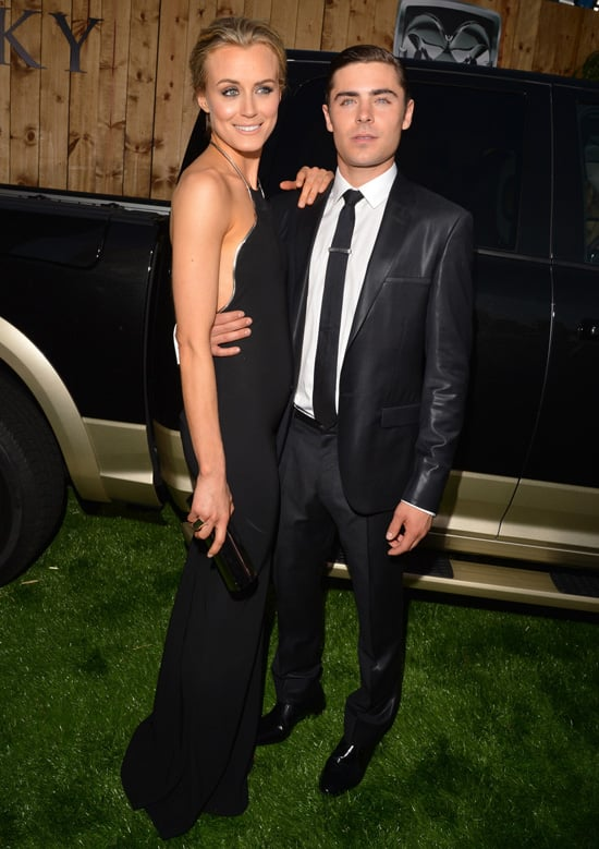 Zac Efron And Taylor Schilling Pictures At La Premiere Of