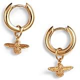 Olivia Burton 3D Huggie Hoop Earrings