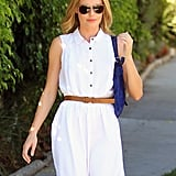 Kate Bosworth headed to West Hollywood to get her nails done.
