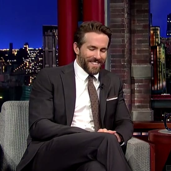 Ryan Reynolds Talks About Baby Names on Letterman | Video