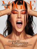 Kourtney Kardashian Looks Like a Sexy Flamin  Hot Cheeto on the Cover of Vogue Mexico