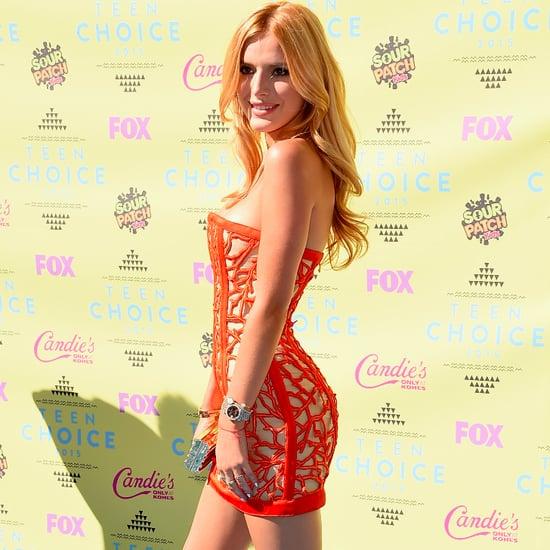 Bella Thorne's Teen Choice Awards Red Carpet Look