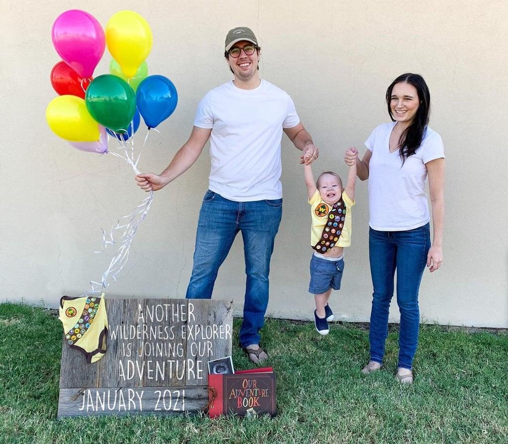 Up Pregnancy Announcement