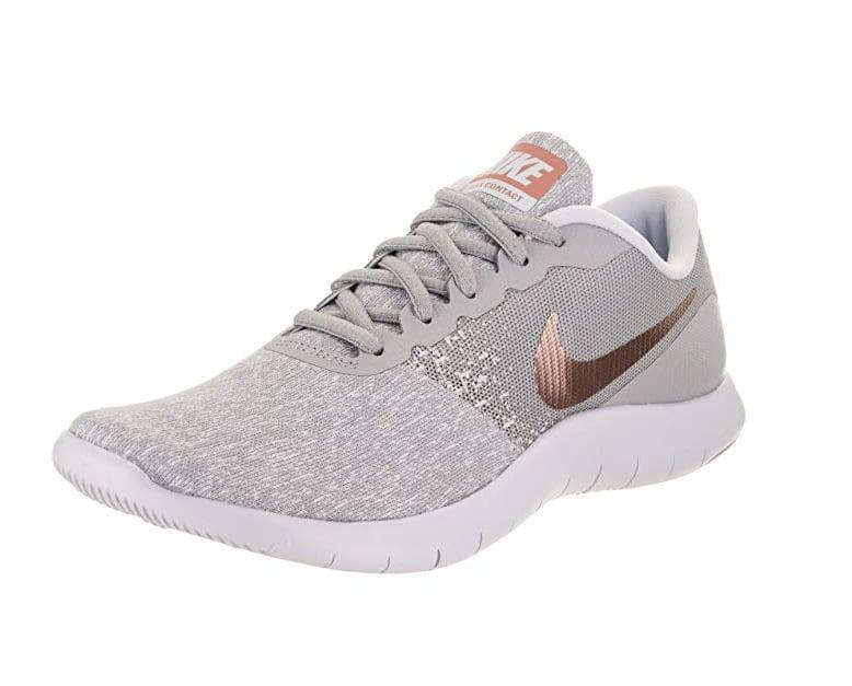 Nike Rose Gold Flex Contact Running Shoe  ee4697e570