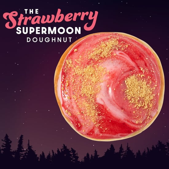 Krispy Kreme Is Releasing a Strawberry Supermoon Doughnut
