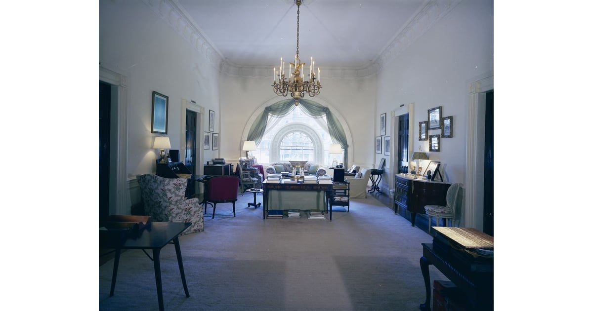 The West Sitting Hall Jackie Kennedy White House