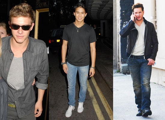 Pictures of Xavier, Booboo and Facinelli