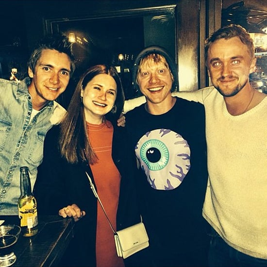 Harry Potter Reunion Alert! Tom Felton and the Weasleys Are Together Again