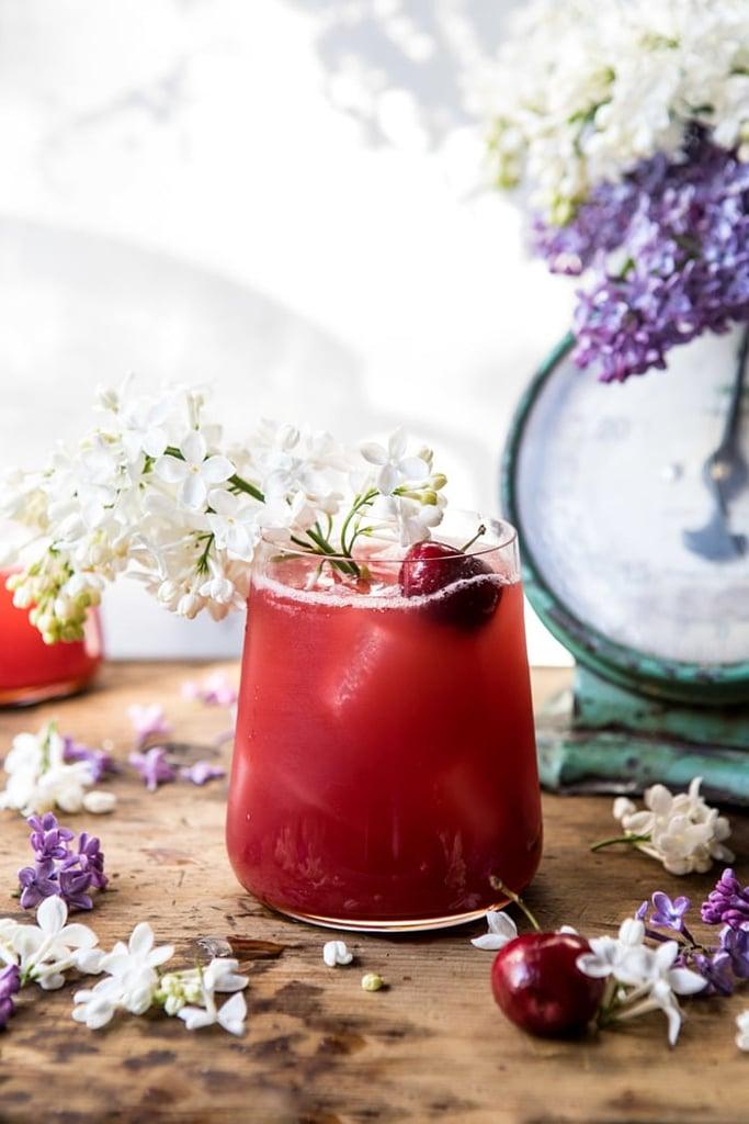 Hibiscus Cherry Vodka Spritz