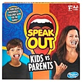 Hasbro Speak Out Kids Vs Parents Board Game