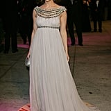 Jennifer Lopez Wore Marchesa to the 2007 Vanity Fair Oscar Party