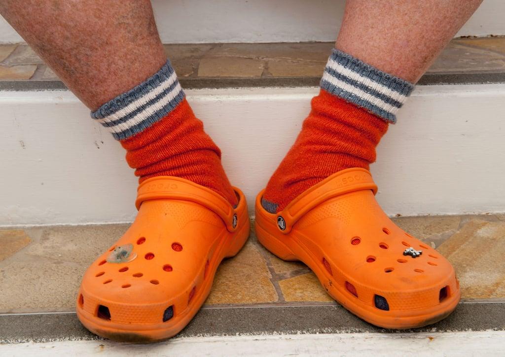 4fb43929504978 Orange Crocs