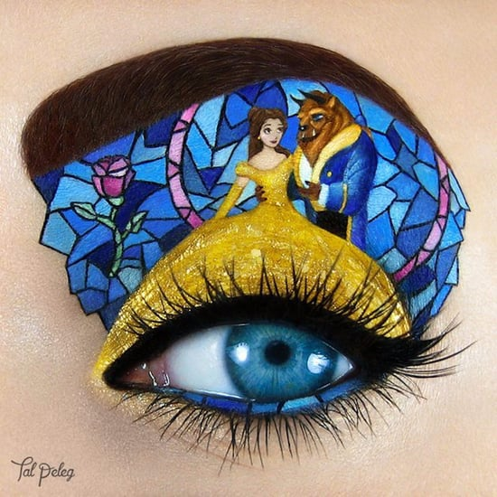 Disney Eye Makeup Illustrations