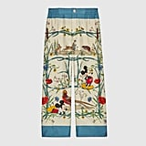 Disney x Gucci Silk Pajama Trousers