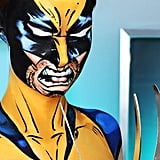 Comic-Book Wolverine Makeup