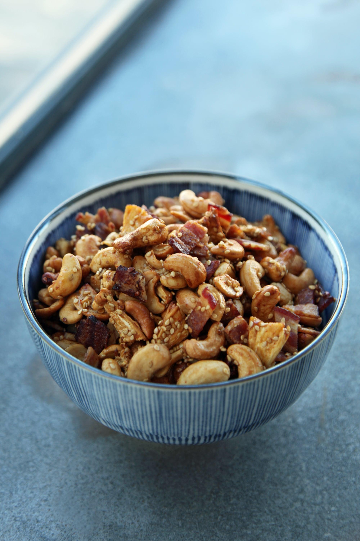 Easy Party Appetizer Recipe Tiki Snack Mix