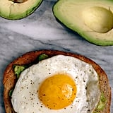 Avocado Toast With a Fried Egg