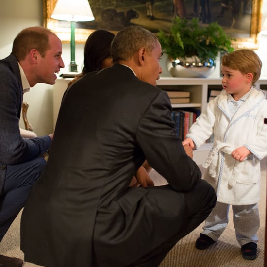 Michelle Obama Reacts to Royal Baby