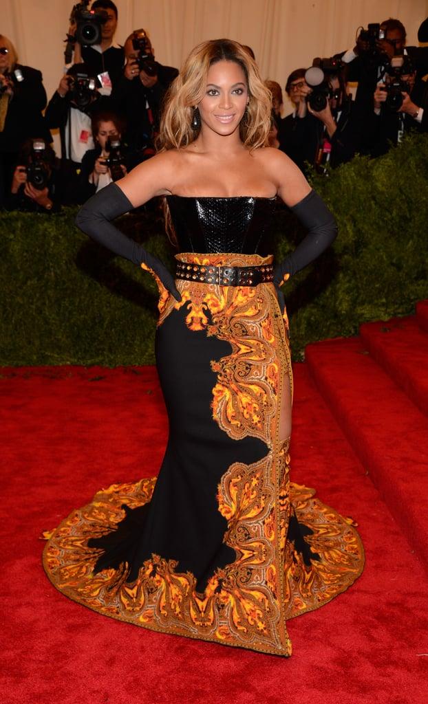 Beyoncé Knowles at the Met Gala 2013.