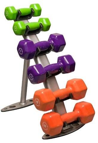 Body Solid Dumbell Rack