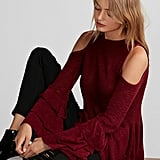 Express Layered Sleeve Sweater