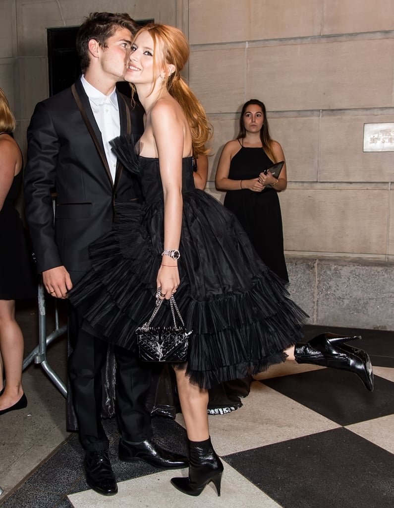 Bella Thorne and Gregg Sulkin PDA at NYFW